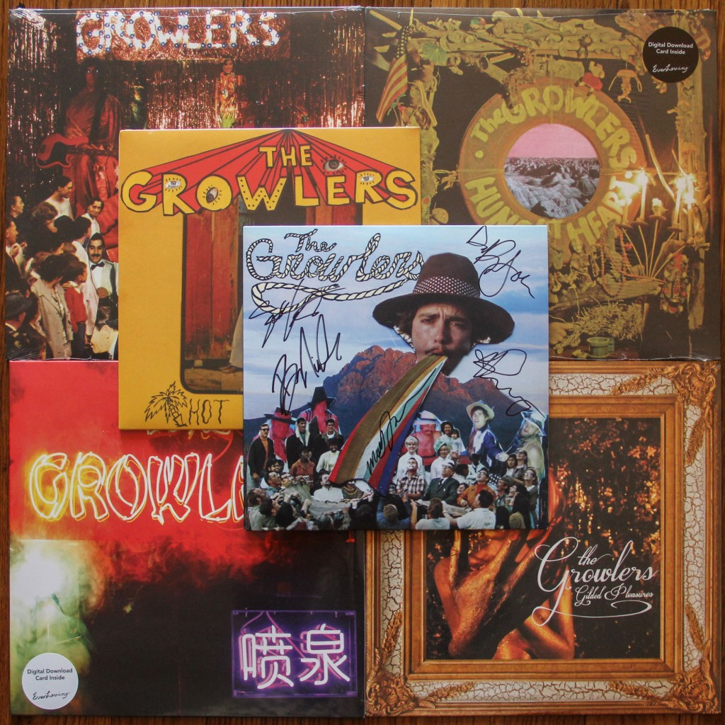 GROWLERS VINYL COLLECTION