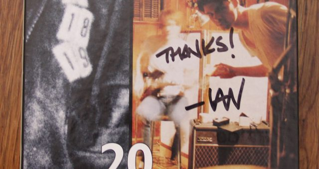 12 Years of Dischord Box Set signed by Ian MacKaye